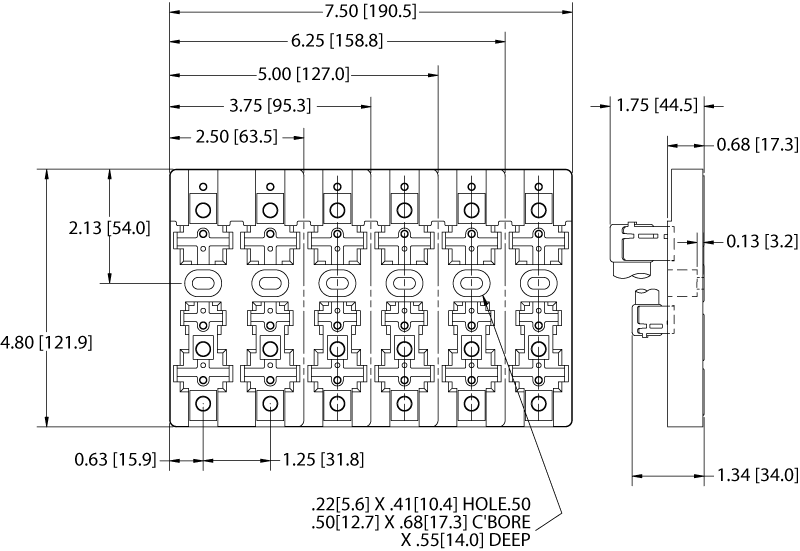class h fuse holders marathon special products spark plug box dimensions fuse panel dimensions